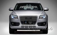 High Quality New Aluminum Alloy Front Center Racing Grill Grille Cover Trim For Audi Q5 2012