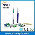 Eficiente MU Virola 1.25mm/Estilo de Lápiz Limpiador de Fibra Óptica conectores LC 800 + limpiezas
