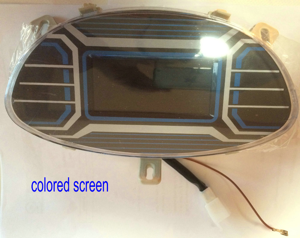 colored screen display 60v