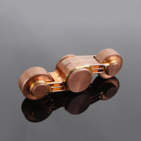 Fidget Spinner Hand Spinner Metal EDC Figet Spiner Motorcycle Chariot Pure Copper Ceramic Bearings Antistress Stress