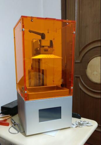 MINI Q 3 KIT miniature photosensitive LCD 3D printer bulk SLA DLP resin printer