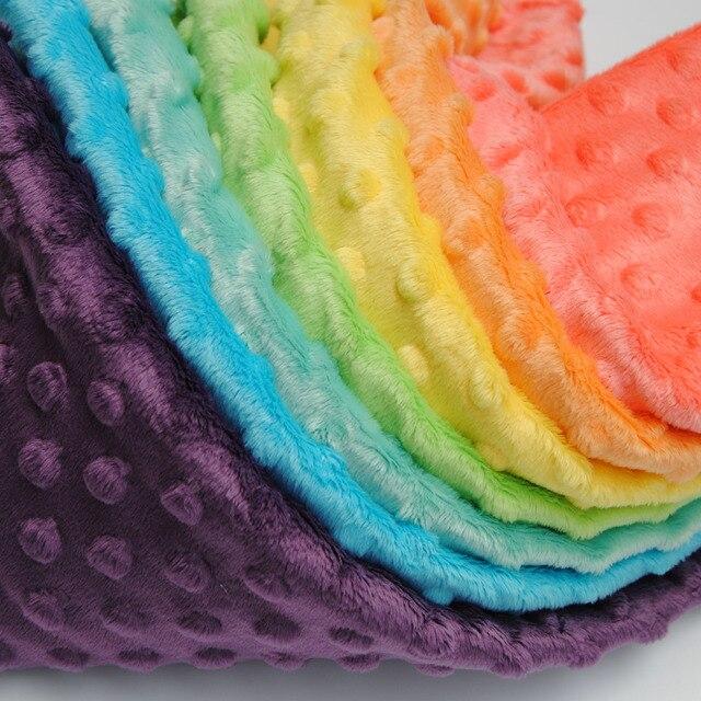 Stoff Färben freies verschiffen polyester minkee stoff häufig für baby windel 31
