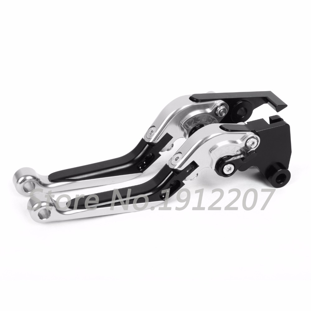ФОТО For Kawasaki ZR750 ZEPHYR 1991-1993 Foldable Extendable Brake Clutch Levers Aluminum Alloy CNC Folding&Extending Levers Part
