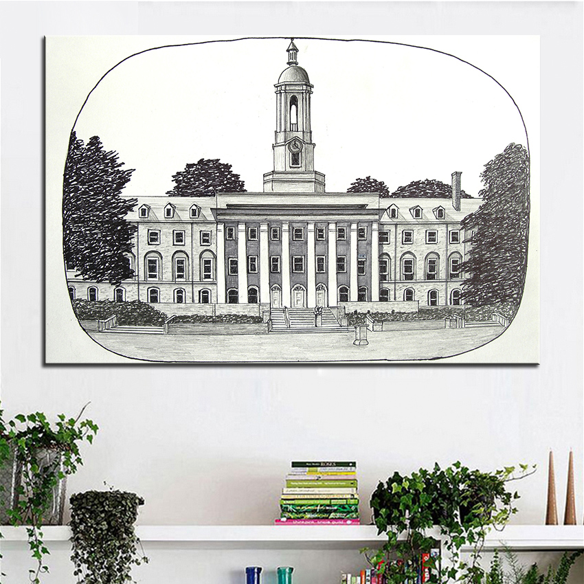 Awesome Penn State Wall Art Inspiration Painting Ideas