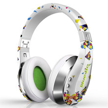 Trend Wi-fi Bluetooth Headphones With Microphone HD Diaphragm Twistable Headband 3D Encompass Sound Headset fone de ouvido