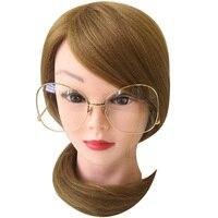 2016 New Luxury Fashion Glasses Women Brand Design Big Frame Clear Lens Outdoor Glasses Women Ladies