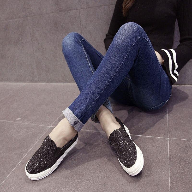 Prop Belly Abdominal Denim Maternity Jeans For Pregnant Women Clothes Pants Cotton Pregnancy Pants Jeans Gravidas Trousers 2019