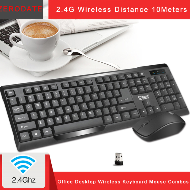 Wireless Keyboard Mouse Combos 2.4G Computer Gaming Keyboard Mice Set 104 Keys Mechanical keyboard Mouse Kit Drop Shipping