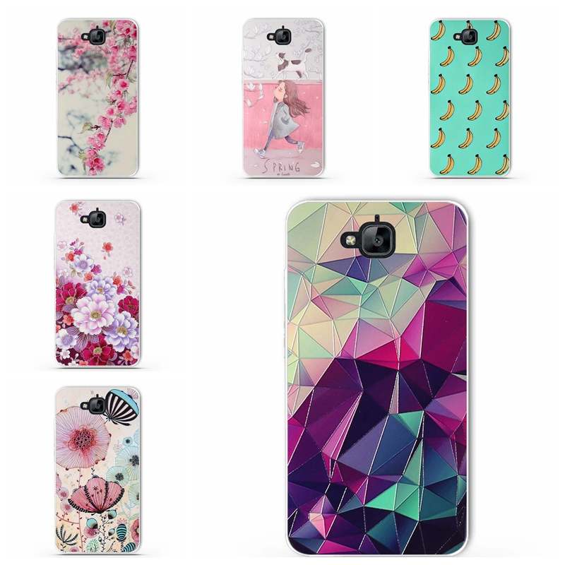 For Huawei Y6 Pro Cases Painted Phone Case For Huawei Honor 4C Pro Y6 Pro Enjoy 5 Honor Holly 2 Plus 5.0 inch Case Painted Cover