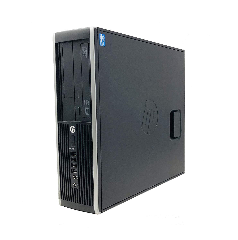 Hp Elite 8200 - Ordenador De Sobremesa (Intel  I5-2400,Lector, 8GB De RAM, Disco SSD De 120GB , Windows 7 PRO ) - Negro (Reacondicionado)