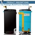 Новый 5.5 дюймовый Prestigio MultiPhone PAP 5550 DUO PAP5550 жк-экран + Сенсорный экран digitizer панель ассамблея сенсорный Оригинал