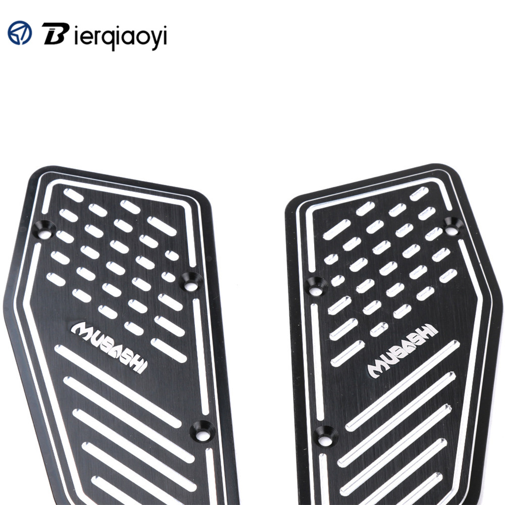 Motorcycle For Yamaha X MAX 300 XMAX 250 XMAX 400 XMAX250 XMAX 300 XMAX400 2017 Footrest Footboard Step Foot Plate Pedal X MAX in Foot Rests from Automobiles Motorcycles