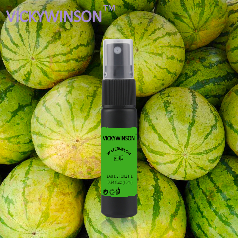 Купить с кэшбэком VICKYWINSON Watermelon deodorization 10ml Pheromones Freshener Flirting Attractant Fragrant Deodorant Long Lasting Fragrance