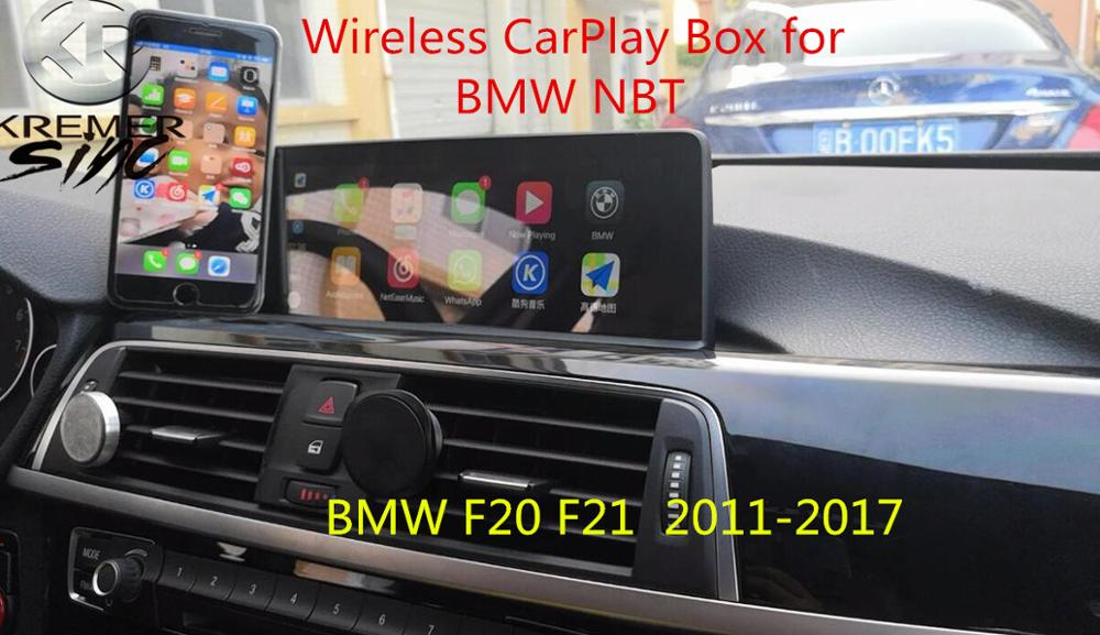 2019 Free Shipping aftermarket Wireless CarPlay Box for All BMW NBT CIC CCC EVO System 1