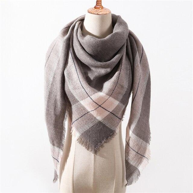 29f41caf815 Designer 2018 nieuwe winter sjaal voor vrouwen sjaals plaid dames kasjmier  sjaals pashmina echarpe nek warm