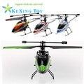 Produtos quentes Avançado 3D modelo WL RC helicóptero v911 4ch única hélice helicóptero de controle remoto melhor presente transporte eetc