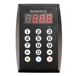 Image 4 - Retekess TD101 Intelligent Restaurant Paging System Voice Reporting Pager Waiter Calling System for Restaurant Bank Cafe