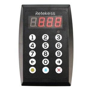 Image 4 - نظام الاستدعاء الذكي للمطاعم Retekess TD101 نظام الاتصال بالباجر النادل للإبلاغ الصوتي لمطعم المقهى البنكي