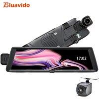 Bluavido 10 4 г ADAS Android зеркало автомобиля видео регистраторы gps навигации Full HD 1080 P регистраторы заднего вида камера dvr Wi Fi Bluetooth