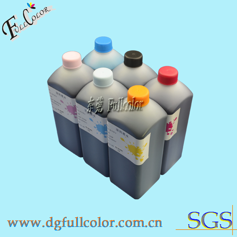 ФОТО Free shipping top quality refill eco-solvent ink For Epson L800 ciss printing ink with cleaning liquid 7litre a lot