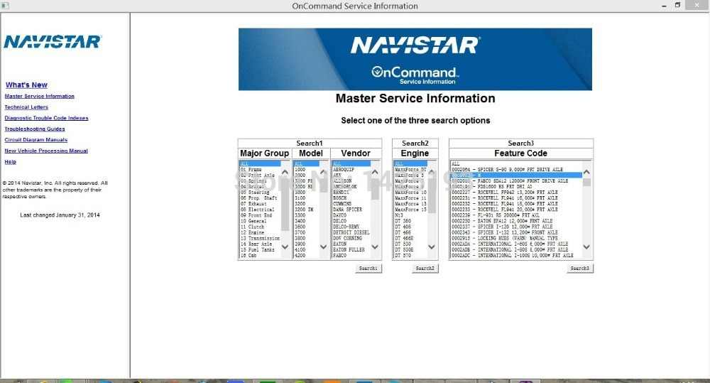 Detail Feedback Questions about International Truck ISIS Navistar OnCommand  Service Information 7 2014 on Aliexpress com | alibaba group