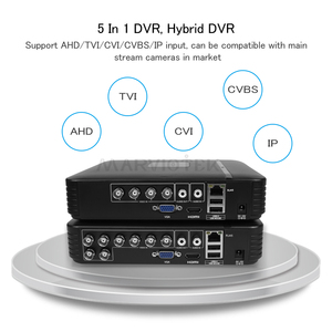 Image 2 - 4 チャンネル ahd ミニ dvr ビデオレコーダー監視セキュリティ cctv nvr 720 p/8CH 1080N ハイブリッド dvr アナログ ahd onvif ipcam wifi