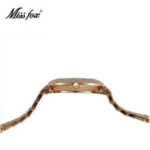 Image 2 - MISSFOX reloj a prueba de choques resistente al agua marca de moda importada China Erkek Saat diamante Carnaval Acero inoxidable Bu Bayan Kol Saati