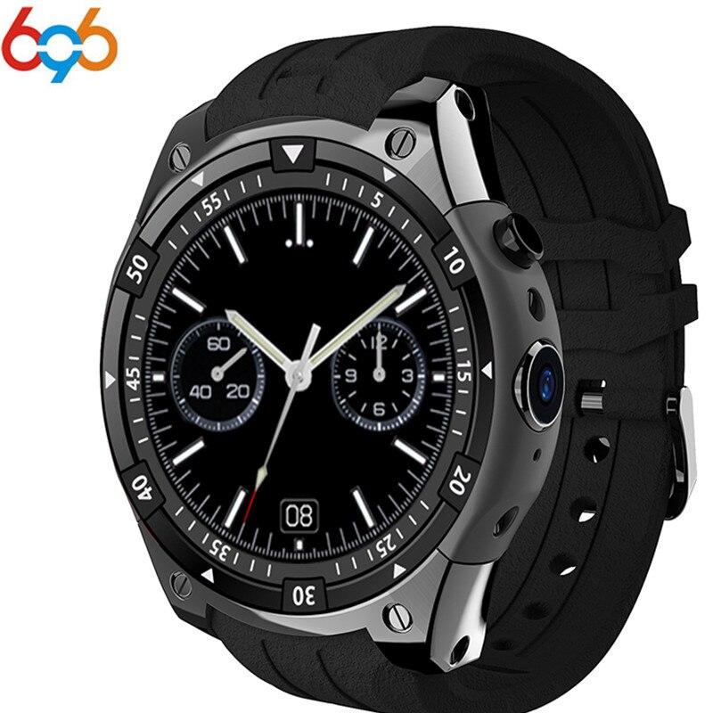 696 prezzo Basso X100 Bluetooth Smart Watch in ROM 4 gb 3g GPS WiFi del Android 5.1 SmartWatch Misuratore di Frequenza Cardiaca passo Watchs PK GW06 Q1 Q1