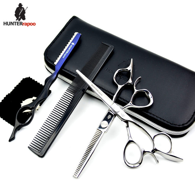 Hunterrapoo Ht9210 6 Inch Professional Hair Cutting Scissors Kit