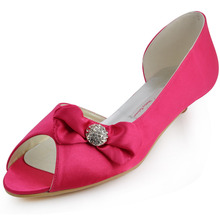 Hot pink low heel shoes online shopping-the world largest hot pink