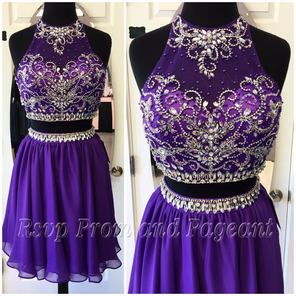 Popular Dark Purple Homecoming Dresses-Buy Cheap Dark ...
