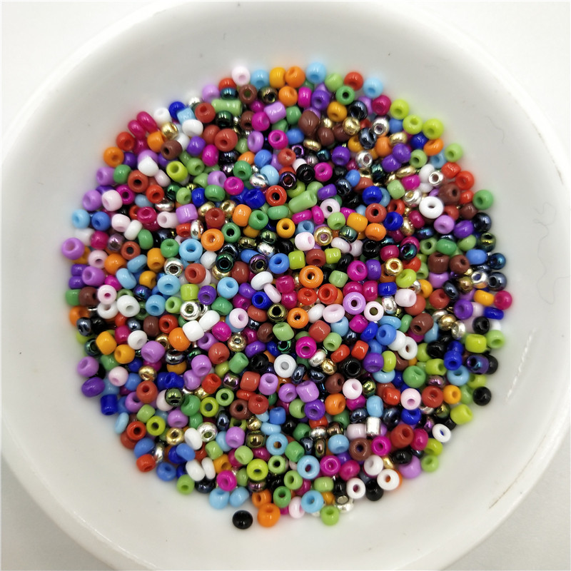 1020Pcs lot 2mm Charm Crystal Glass Czech Seed Beads Loose Spacer Hama Bead DIY Bracelet Necklace for Jewelry Making Accessories in Beads from Jewelry Accessories
