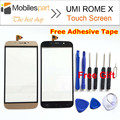 Roma Umi X 100% Original Do Painel da Tela de Toque Digitador Substituição Touch Display de Tela para Umi Roma X 5.5 polegadas do Smartphone