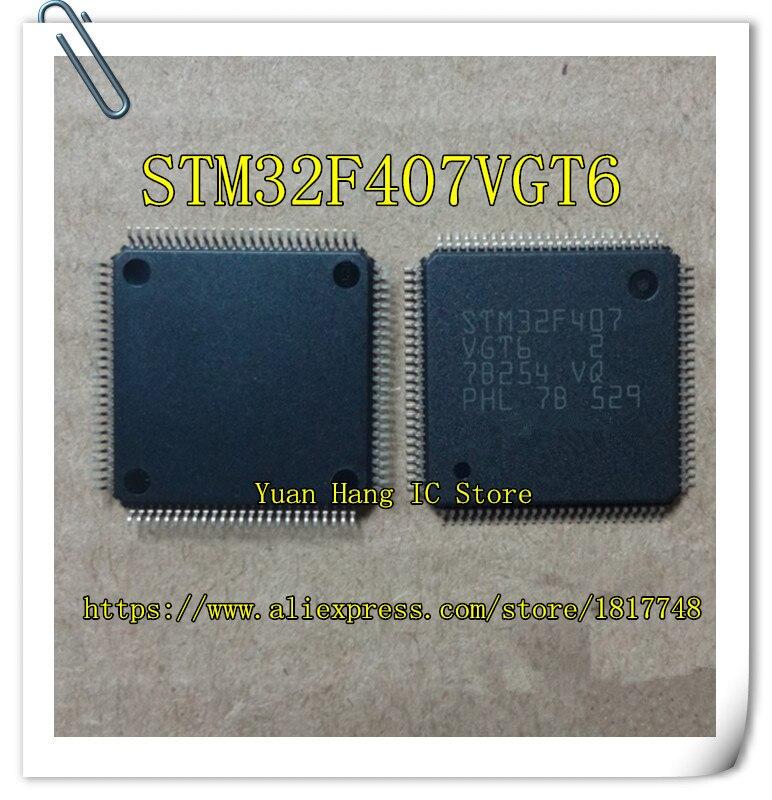 Free Shipping STM32F407VGT6 STM32F407 VGT6 STM32F407 ST LQFP-100 New original tms320f28335 tms320f28335ptpq lqfp 176