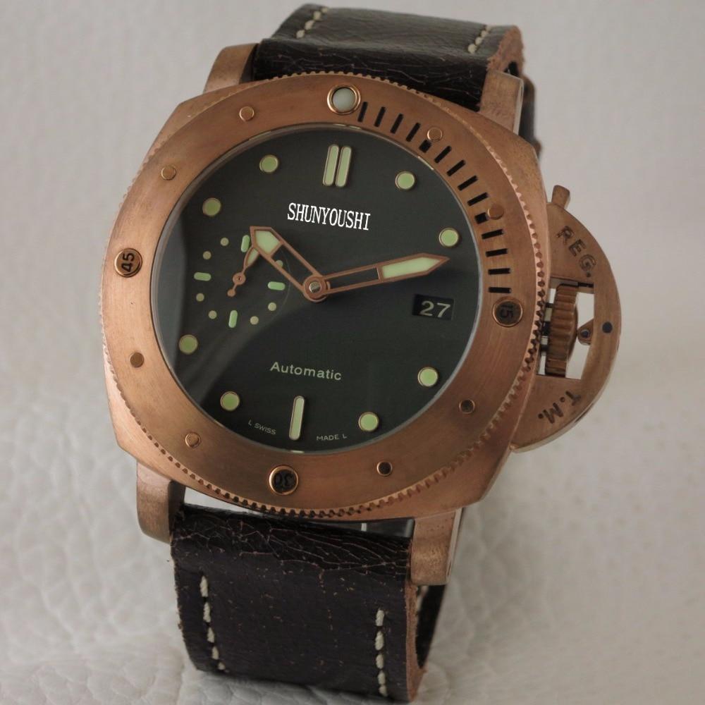 WG04108 Mens Relógios Top Marca De Luxo Pista Europeu de Design Relógio Mecânico Automático