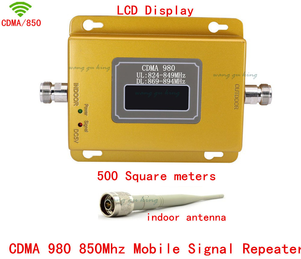 GSM repeater 850MHz CDMA mobile signal signal booster cell phone wireless amplifier with indoor antennaGSM repeater 850MHz CDMA mobile signal signal booster cell phone wireless amplifier with indoor antenna