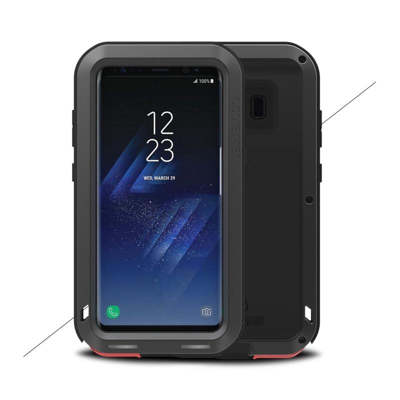Цена за Любовь мэй для samsung galaxy s8 s8 плюс s8 + мощный case противоударный dropproof g955 g950 телефон крышка полная защита жесткого Shell