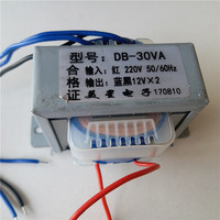 220VAC Power Transformer 30VA EI66 output dual 9V 12V 15V 18V 24V Transformer for pre amplifier board