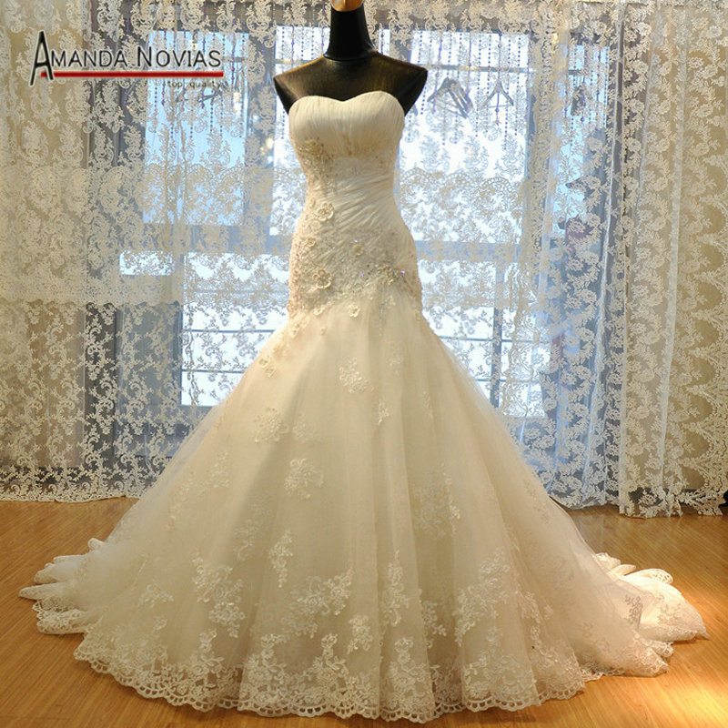2016 Luxurious Croset Bodice Lace Top Quality Real Sample Mermaid Wedding Dress R 363 In Dresses From Weddings Events On Aliexpress Alibaba