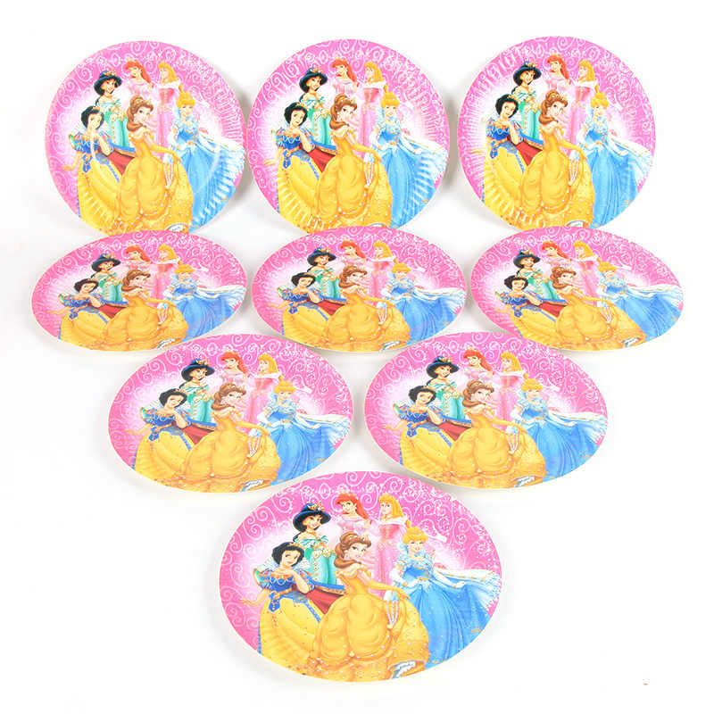 Detail Feedback Questions About 60pcs Lot Disney Princess Party Baby
