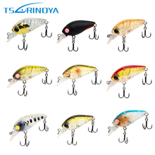 Trulinoya 9pcs/lot DW24 35mm/3.5g Crankbait Fishing Lure Artificial Hard Bait Carp Fishing Lures Crank Bait 9 different Colors