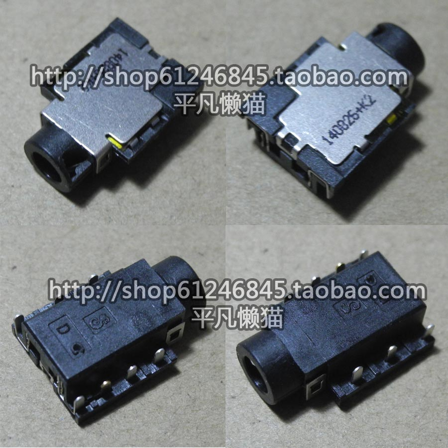 Free shipping For Dell Inspiron 15R 5537 3537 5547 2 in 1 audio interface headphone jack ноутбук dell 15 5547 5447 5437 5537 7447 3542