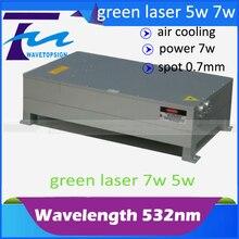 532nm laser module 7w green laser module 7w laser mark machine use