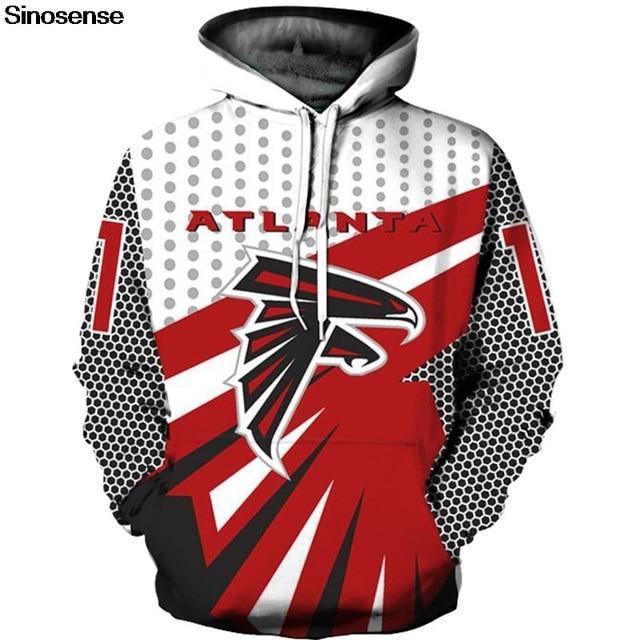 Atlanta Falcons Hoodies Men Women New Hip Hop Streetwear Pullover Hoody  Tops 2018 Autumn Winter Long Sleeve Hoodie Sweatshirt 0adef7d50
