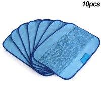 10 Pcs Microfiber Mopping Cloth Washable Reusable Mop Pads Fit IRobot Braava 380 HG99