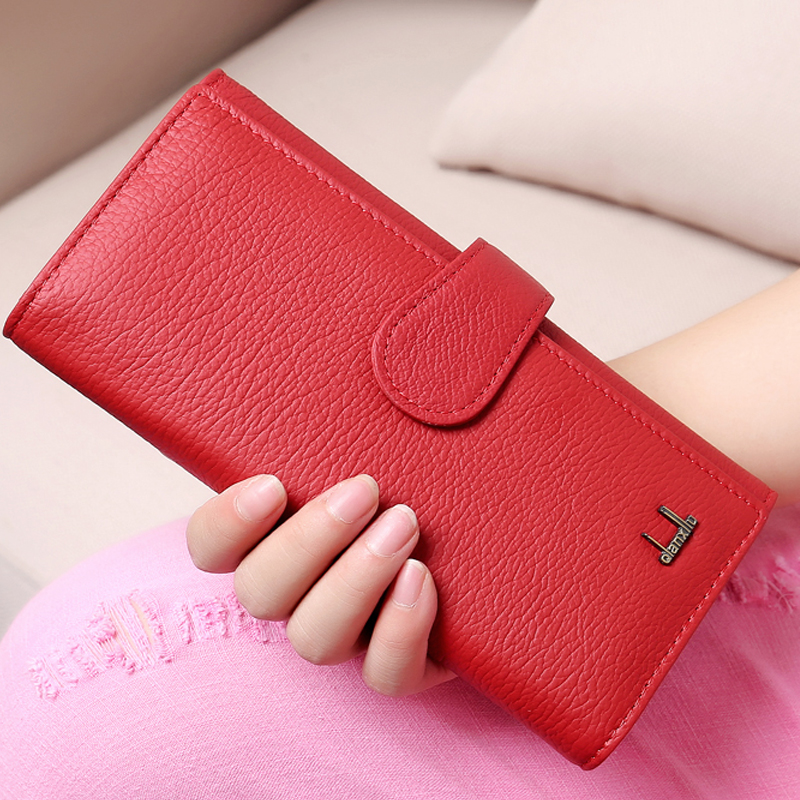New Women Wallets Luxury Brand Design High Quality Cow Leather Wallet Female Hasp Fashion Dollar Price Purses Lady Purse Bag 2016 new brand short women s wallet high quality guarantee designer s high heeled shoes hasp purse for lady free shipping