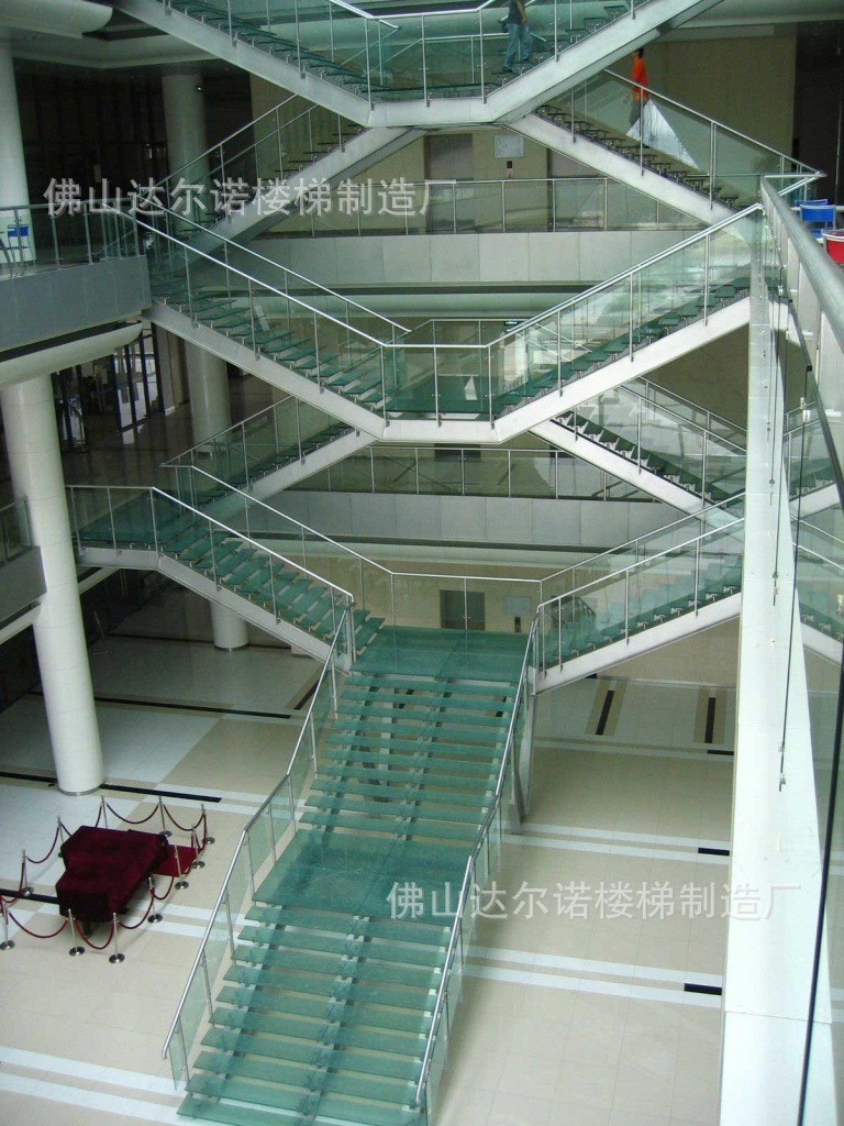 Villa Stair Railing / Wood Staircase / Spiral Staircase / Stair Glass / Stainless  Steel Rails ...
