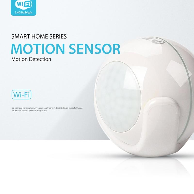 NEO WiFi PIR Motion Sensor Intelligent Home Alarm System Super Mini Shape White PIR Sensor Infrared Alarm DetectorNEO WiFi PIR Motion Sensor Intelligent Home Alarm System Super Mini Shape White PIR Sensor Infrared Alarm Detector