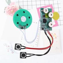 Radio Am Fm Radio cyfrowe odbiornik Diy kartka z życzeniami Chip 4 minuty nagrywalny procesor dźwięku głosu kartka z życzeniami głosowymi