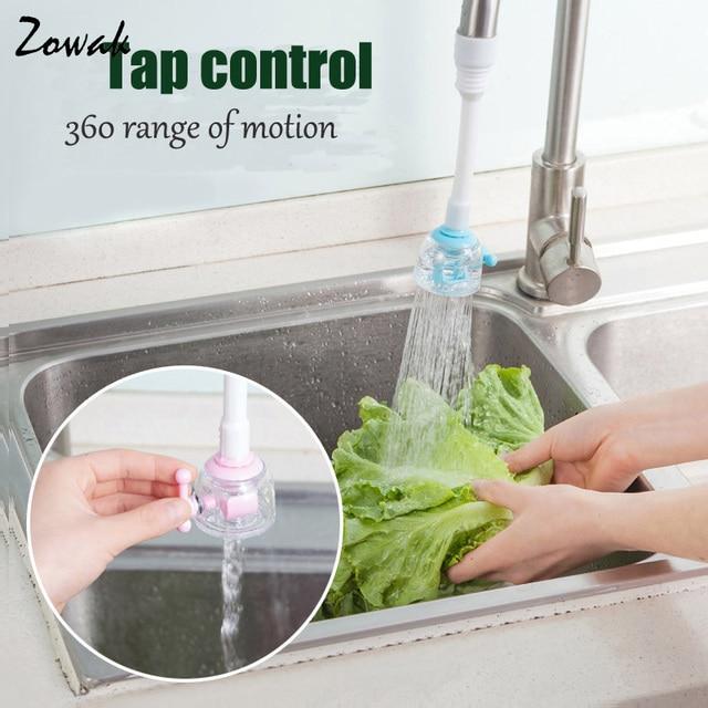 Water Saving Kitchen Faucet Accessories Flexible Sink Tap Sprayer ...